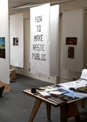 How To Make Waste Public<br />Curatorial Residency